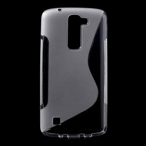estuche protector silicon tpu lg k10 v10 k8 k7