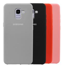 best loved 43b83 2394a Estuche Protector Silicone Case Samsung Galaxy J6