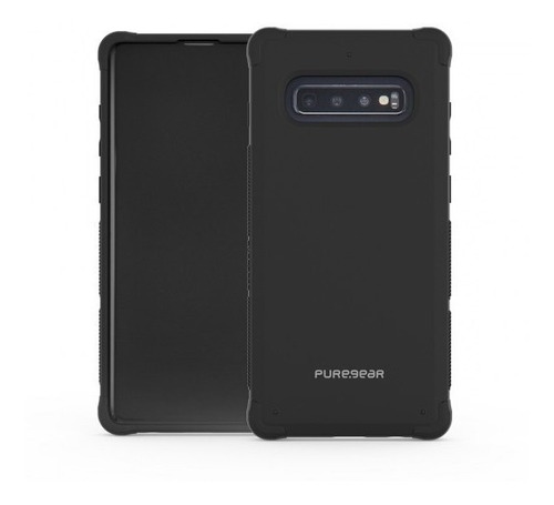 estuche puregear dualtek® para galaxy s10 negro