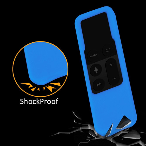 estuche remoto para apple tv protector de silicona de c... c