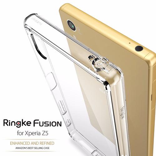 estuche ringke fusion xperia z5 - z5 compact
