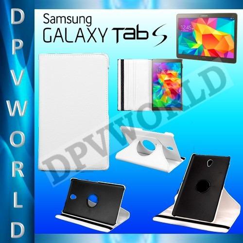 estuche rotatorio samsung galaxy tab s 8.4 t700 t705