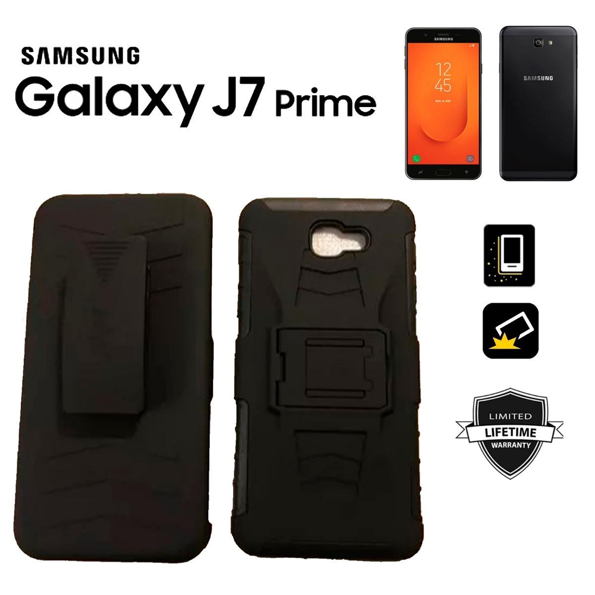 93151b04f33 estuche samsung galaxy j7 prime robot gancho holster carcasa. Cargando zoom.