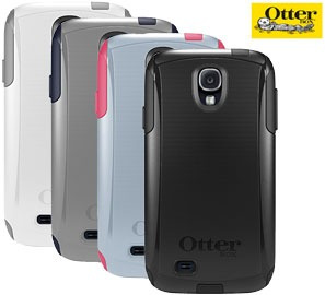 estuche samsung galaxy s4 otterbox commuter + protector pant