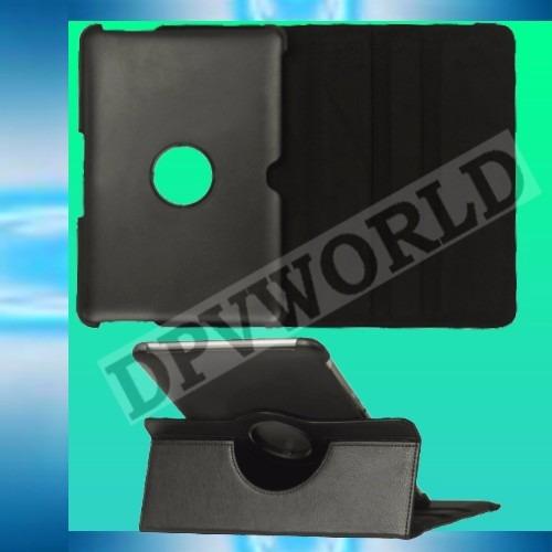 estuche samsung galaxy tab 2 10.1 tipo agenda giratorio 360