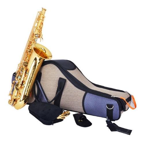 estuche saxo tenor bgs beige/br omebaige