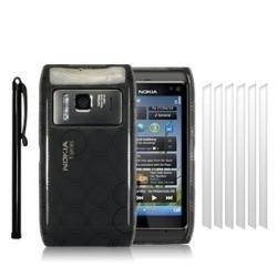 estuche silicon gel celular nokia n8 mp3 usb wifi gps sd mp4