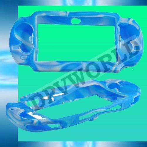estuche silicon ps vita 2000 playstation vita slim camuflash