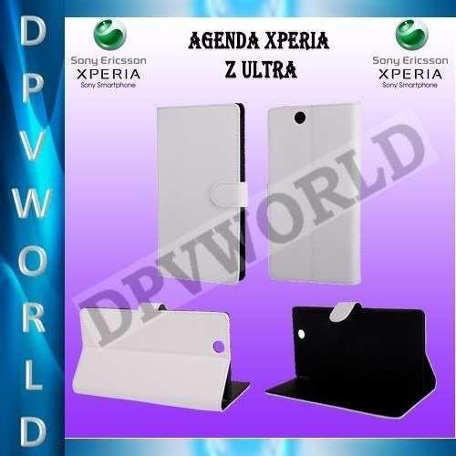 estuche sony xperia z ultra c6806 c6802 c6833 agenda