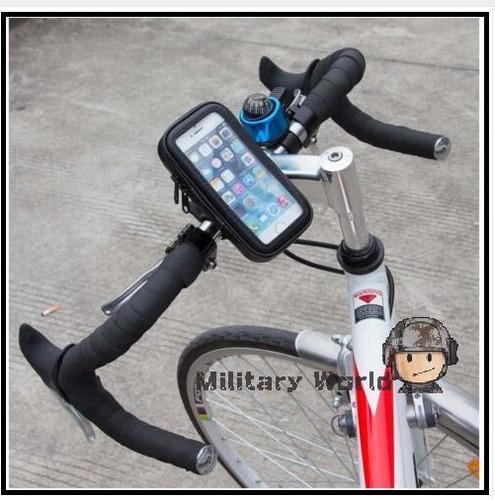 estuche soporte moto bicicleta para celular