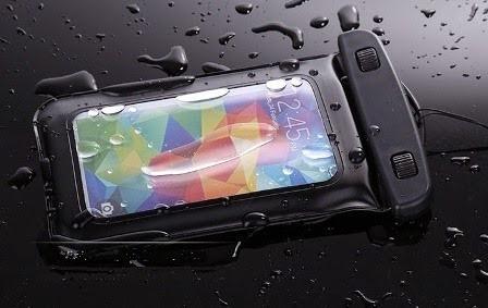 estuche sumergible forro protector contra agua para celular