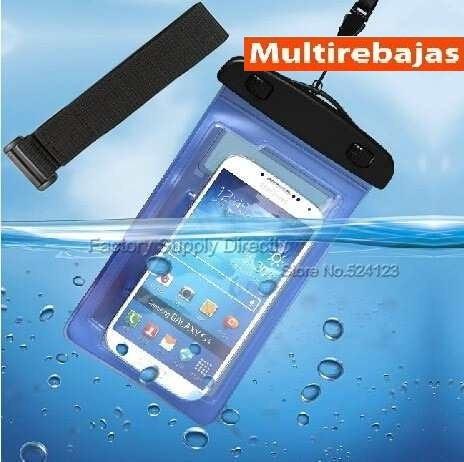 40a2941512b Estuche Sumergible Forro Protector Contra Agua Para Celular - U$S 1,40 en  Mercado Libre