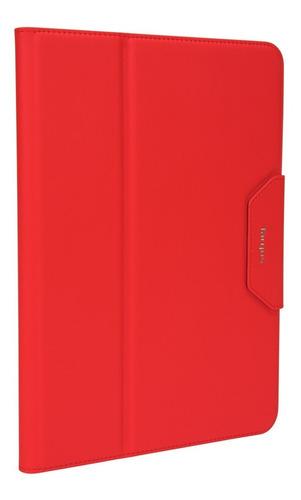 estuche targus versavu classic ipad pro 10,5  rojo thz67103