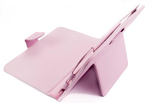 estuche teclado bluetooth samsung galaxy note 8 n5100  rosa