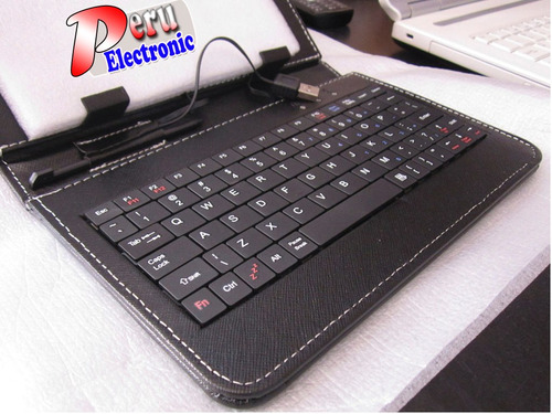 estuche teclado tablet 7 , ipad. etc. con pluma stylus