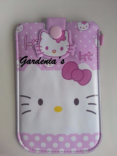 estuche telefono hello kitty