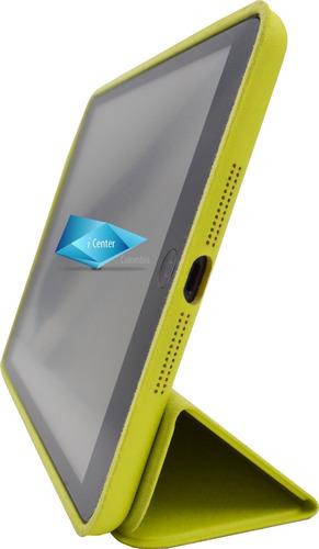 estuche tipo smart case ipad mini 1 2 3 cuero colores magne