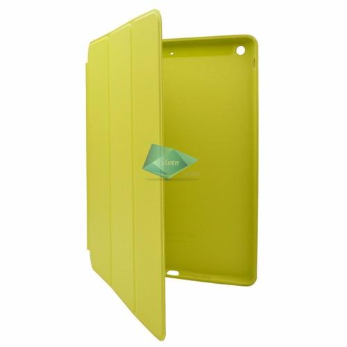 estuche tipo smart  case magnético ipad air 1 cuero colores