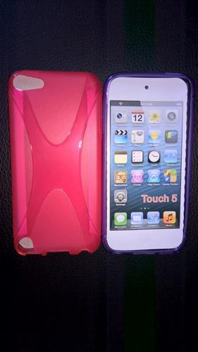 estuche tpu para ipod touch 5