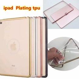 estuche transparente filo plateado ipad 2 3 4 mini 2 3 4 air