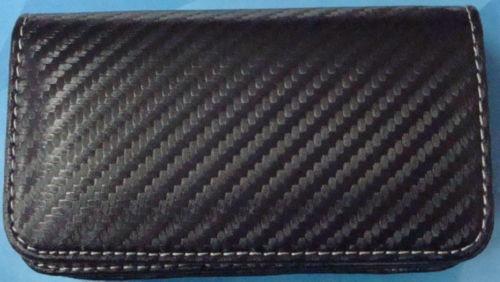 estuche virgin mobile lg rumor touch carbon design pouche