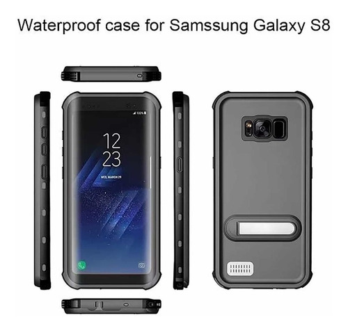 estuche waterproof lifeproof galaxy s8 redpepper *itech