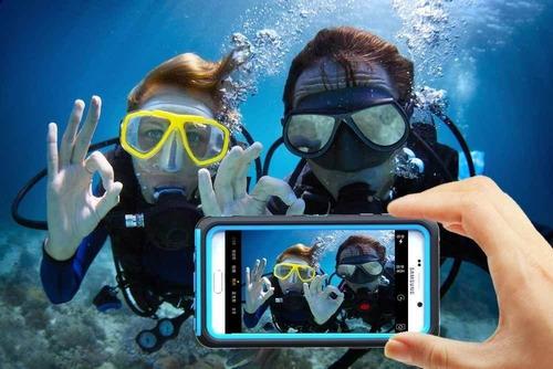 estuche waterproof lifeproof iphone 7 redpepper