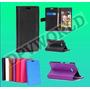 Estuche Nokia Lumia 735 Rm-1039 Tipo Agenda Cuero Elegante
