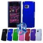 Fabulosos Estuches Rigidos Color Azul Para Nokia X6.
