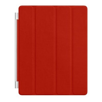 Smart Cover Para Ipad De Cuero Rojo Apple