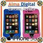 Carcasa Acrilico Iphone 3 Apple Estuche Protector Plastico