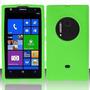 Estuche Silicone Gel Verde Para At&t Nokia Lumia 1020