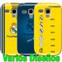 Estuche Samsung Galaxy S3 Mini Gt I8190 Real Madrid Fútbol