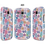 Forro Estuche Samsung Galaxy S3 Mini Gt I8190 Flores Fucsia