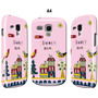 Estuche Samsung Galaxy S3 Mini Gt I8190 Home Sweet Hom Rosa