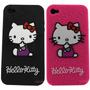 Forro Carcasa Para Iphone 4/4s/4g/5 Hello Kitty En Silicona