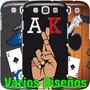 Estuche Samsung Galaxy S7-s6-edge-j7-s5-s4-s3 Mini Poker Ak