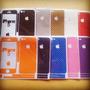 Skins Vinyl Fibra De Carbono Iphone 4/4s 5s Protector Vinil