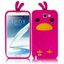 Estuche Cubierta Pink Pato Pa Samsung Galaxy Note 2 Ii N7100