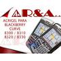 Forro Acrigel Blackberry Curve 8300 8310 8320 8330 Manguera