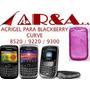 Forro Acrigel Blackberry Gemini 8520 8530 9300 3g Manguera