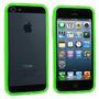 Bumpers Iphone 5/5s Colores Neón Fucsia Verde Morado Negro