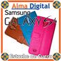 Estuche Cuero Samsung S4 Funda Forro Protector Tipo Libreta