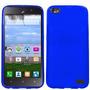 Estuche Durable Cool Azul Oscuto Para Huawei Raven H892l Lte