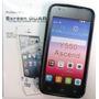 Forro Gel + Lamina Protectora Huawei Ascend Y550