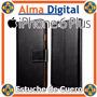 Estuche Cuero Iphone 6 Plus Funda Forro Protector Libreta