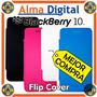 Estuche Flip Cover Blackberry Z10 Forro Protector