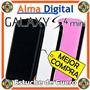 Estuche Cuero Samsung Galaxy S4 Mini Funda Protector Forro