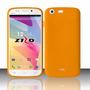 Estuche Protector Skin Soft Orange Para Blu Life One L120