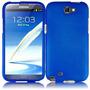 Estuche Duro Azul Para Samsung Galaxy Note 2 Ii N7100